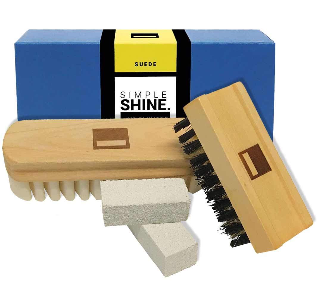 Cepillo de gamuza premium Limpiador de nobuck Crepe Brush an