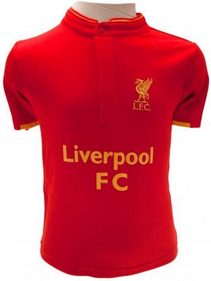 Liverpool F.C. Conjunto de camisa y pantalón corto 12/18 ...