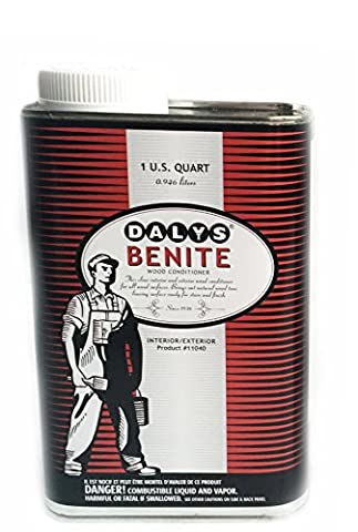 Benite Wood Conditioner, 1 Quart (Pre Stain Conditioner)