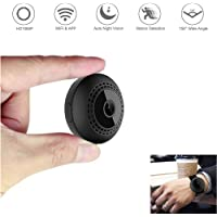 Aoboco Wireless Hidden Small Nanny Cam 1080P WiFi Home Security Camera with iPhone/Android Phone App Night Vision