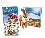 "Elf on the Shelf Elf Pets Holiday Reader's Gift Bundle: A Reindeer Tradition Storybook with Cuddly Plush Reindeer and Scout Elves ""Hooray! It's Your First Elf on the Shelf Library"" 3 Book Set for 2-4 Year Olds"