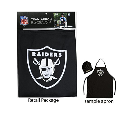 Raiders Apron and Chef's Hat Set