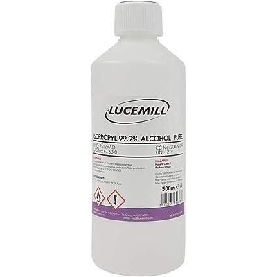 500ml (0,5L) ISOPROPYL ALCOHOL 99,9% PURE IPA ISOPROPANOL LIQUIDO