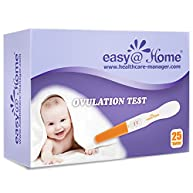 Easy@Home 25 Ovulation (LH) Tests - Midstream Test sticks
