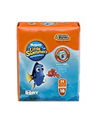 Huggies Little Swimmers Disposable Swimpants (Character May Vary), Medium 18 Count BOBEBE Online Baby Store From New York to Miami and Los Angeles