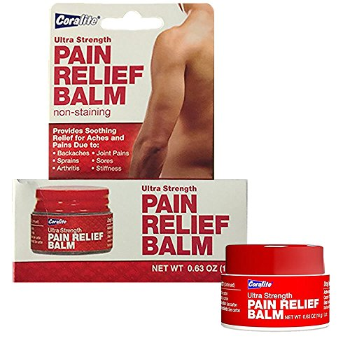 [3-Pack] Coralite Ultra Strength Pain Relief Balm Cream Ointment (Ultra Strength Pain Relieving Cream)