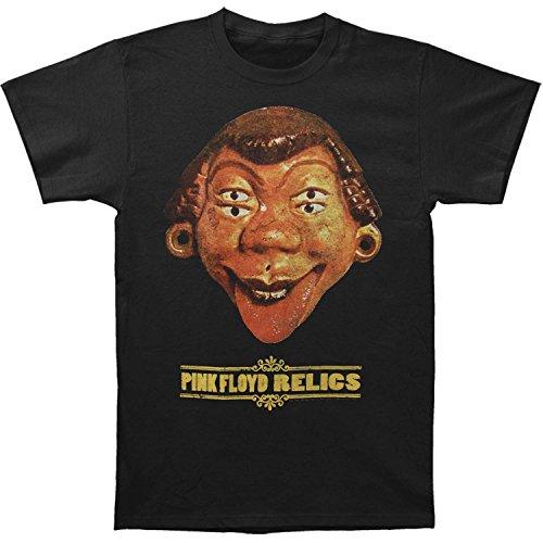 Pink Floyd Men's Relics Cover T-shirt Medium Black