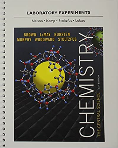 Amazon com: Laboratory Experiments for Chemistry: The Central