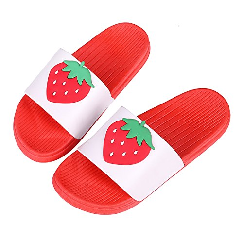 Cute Bath Slippers Colorful Fruit Beach Sandals Shower Shoes for Adults and Kids RD26 -
