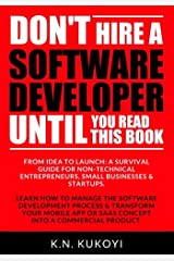 Don't hire a software developer until you read this book Paperback