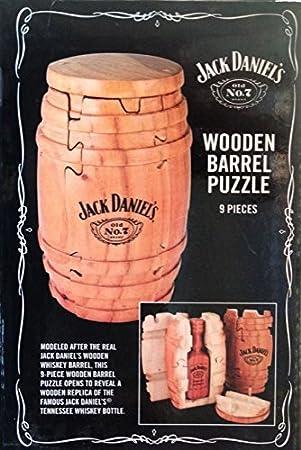 Jack Daniel S Holzfass Puzzle Amazon De Kuche Haushalt