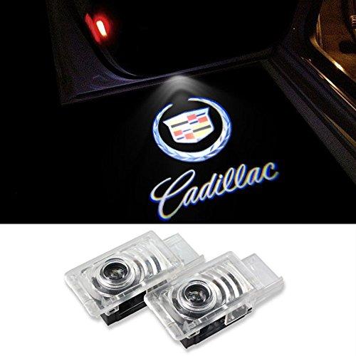 Inlink 2 X Car LED Door Logo Projector Ghost Shadow Light High Definition 12V Projector Lamp Logo Light