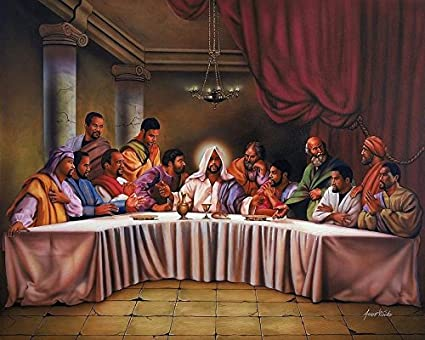 amazon com the last supper black jesus by aaron and alan hicks