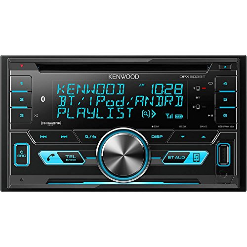 Kenwood DPX503 2-DIN USB AAC WMA MP3 CD Receiver Renewed