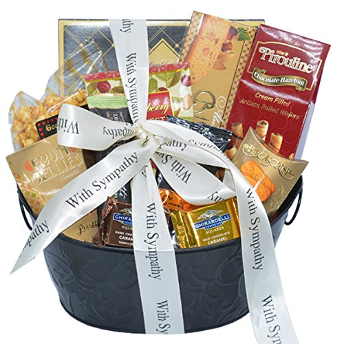 Sincere Sympathy and Condolences Gourmet Gift Basket | Bereavement Gift Basket