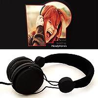 Noise Isolating Dependable Durable Studio Headphones - Black