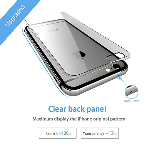 the best attitude 8ebe8 e0583 iPhone 7 Bumper Case, IFCASE Slim Aluminum Metal Bumper (No - Import ...