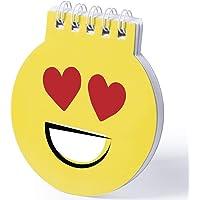 GARGOLA.ES OPERADORES DIGITALES WINLON LIBRETA DE EMOTICONOS (Lote 20 Unidades)-Cuadernos Emoji - Libretas Anillas…