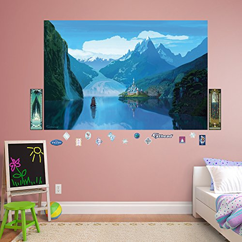 FATHEAD Frozen: Arendelle Mural-Huge Officially Licensed Disney Removable Graphic Wall Decal -