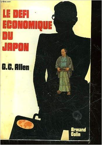 Livres gratuits Le defi economique du Japon pdf
