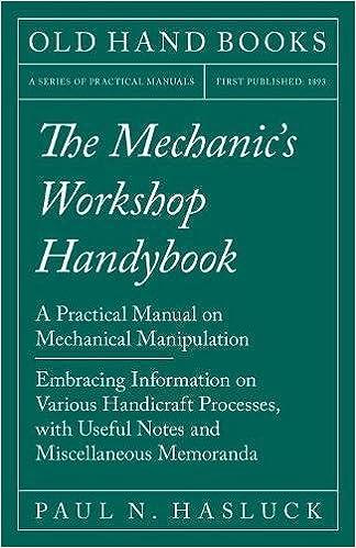 mechanical workshop practice lab manual