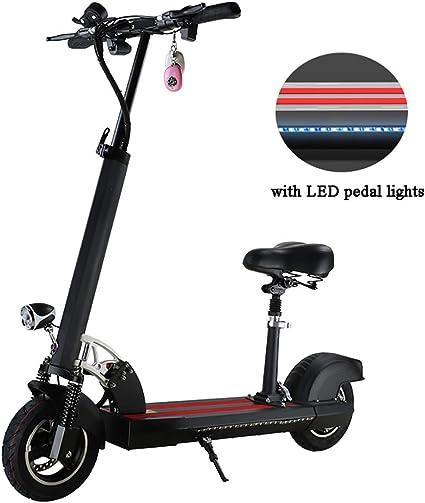 Amazon.com: Funbyke Patinete eléctrico plegable y ajustable ...