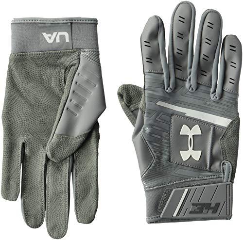 Gray Batting Gloves - 7