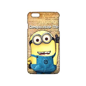 Wish-Store Lovely Minions 3D Phone Case for iPhone 6