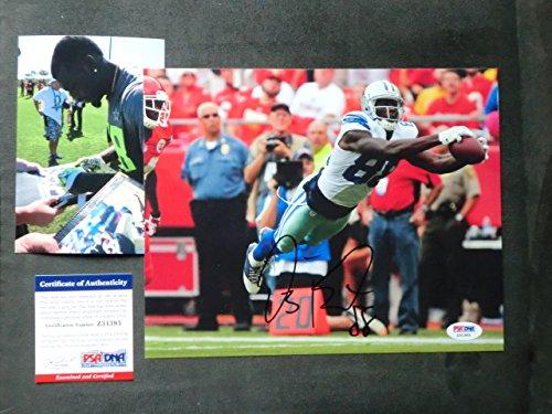 Dez Bryant Hot! signed Dallas Cowboys 8x10 photo PSA/DNA cert with PROOF!!
