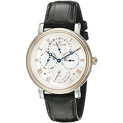 Thomas Earnshaw Men's ES-8048-04 Longcase Master Calendar Analog Display Japanese Quartz Brown Watch
