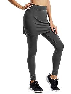 Jessie Kidden Skapri - Falda con mallas para mujer, estilo casual, con bolsillo,