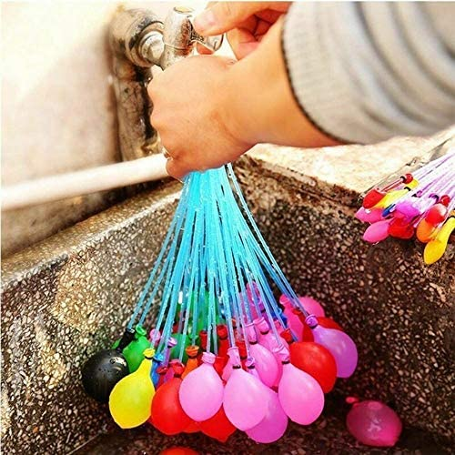 #N//A nershipo Magic Water Balloon Self-Sealing Water Balloon Kids Toy For Summer Water Filling Balloons Quick Injecting Water Birthday