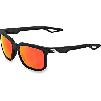 0a12dfca6e Amazon.com  100% Unisex-Adult Speedlab (61027-019-43) Centric-Soft Tact  Crystal Black-HiPER Red Multilayer Mirror Lens