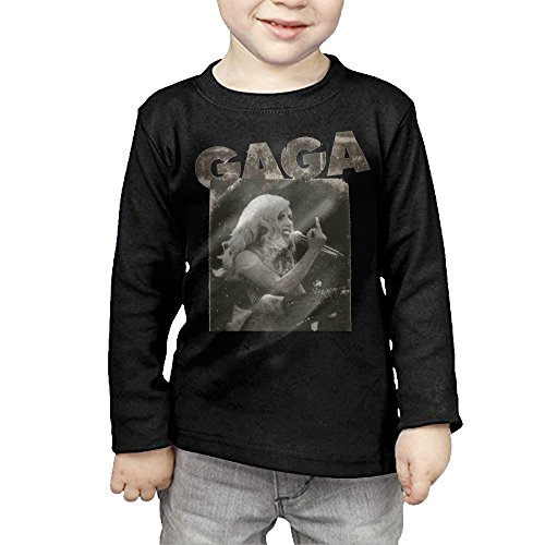 Lady Gaga Middle Finger Baby Boys Long Sleeve Cotton Tee (Zapato 35 compare prices)