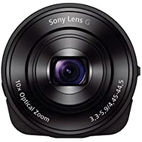Sony DSC-QX10/B Smartphone Attachable 4.45-44.5mm Lens-Style Camera (Certified Refurbished)