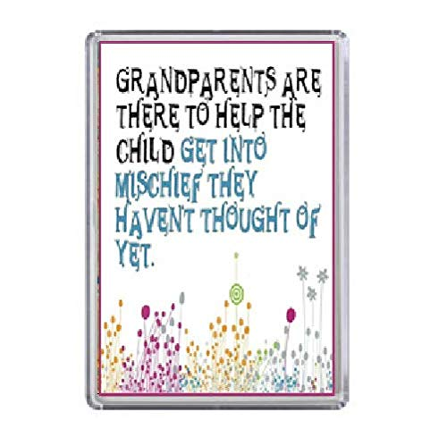 Grandparents Magnet Novelty Christmas Gift Idea Birthday Gift Idea Fridge Magnet Gift For Grandma Grandad Grandparents