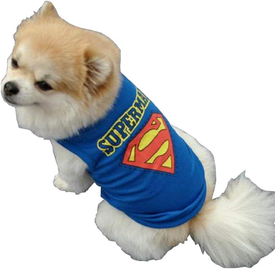 Superman Pet Costume Pet Superman Halloween Fancy Dress