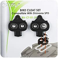 BV Bicicletas Calas para Shimano SPD- Spinning, Ciclismo de Montaña Set de Calas.: Amazon.es: Deportes y aire libre