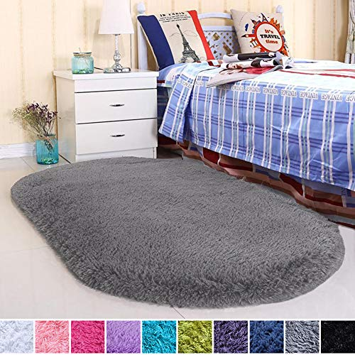Noahas Ultra Soft Velvet Bedroom Rugs Kids Room