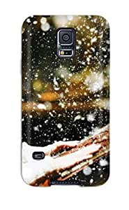 High Quality Shock Absorbing Case For Galaxy S5-lucy In Narnia Voyage Of The Dawn Treader