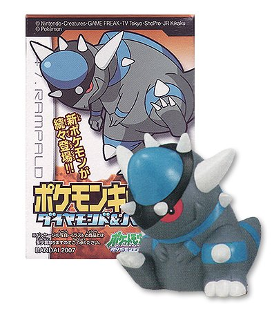 Pokemon Kids Diamond & Pearl Movie 10th Anniversary Series 4: 447.rampardos Mini Figure (Japanese Import) ***Free Domestic Standard Shipping for This Item***