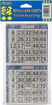 Clarence J. Venne Primo Bingo Paper 2-Game Sheets