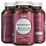Natural Tongkat Ali + Maca Root + Ginseng Supplement For Men - Lose Weight + Burn Belly Fat - Immune System Enhancer - Testosterone Booster + Helps Build Muscle Male Enhancement Pills By Tevare