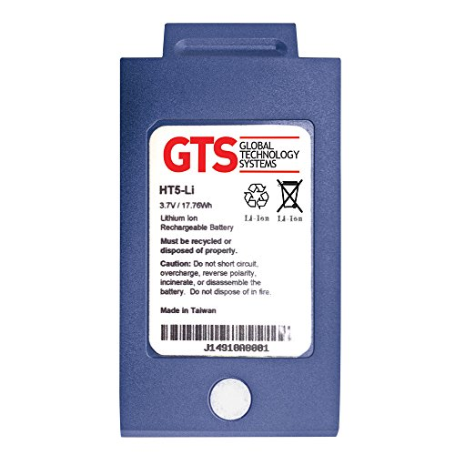 GTS HT5-LI Replacement Battery for Vocollect T5/A500 handheld Scanners, 4800 mAh, LiIon, 3.7V, OEM Part Number BT-700-1