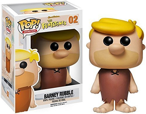 Funko POP! Hanna-Barbera - Vinyl Figure - BARNEY RUBBLE (Funko Pop Barney Rubble)