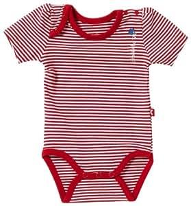 Kanz - Body para niña rojo de 100% algodón, talla: 98cm (3-4 años)