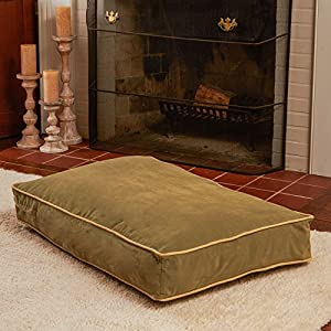 B004ZJTGHUELN Buster Dog Bed, 18 by 24-Inch Extra Small, Moss