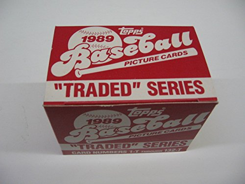 - 1989 Topps Baseball Traded Factory Set