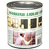 ASSOCIATED PAINT 157026 80-400-4 H20 Masking Liquid, 1 quart, Clear