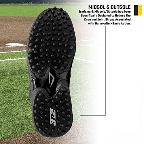 b3c10090107 3N2 Men s Umpire Shoe - Reaction Field Lo - Black - D   EE Widths ...
